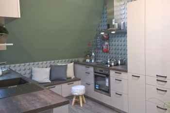 Nobilia Laser Sand Küchenlösung für Dachschrägen Koje 50