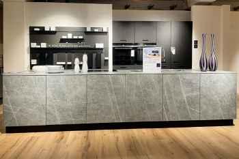 Next NX950 Keramikfronten Ceramic Marmor Arbeitsplatte Ceramic Marmor Koje 390