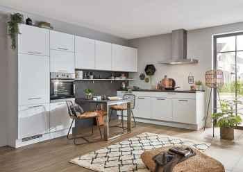 Nobilia Speed Alpinweiß moderne Küchenplanung auch für kleine Räume geeignet