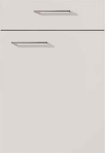 Nobilia Touch Front 338 Lacklaminat Seidengrau supermatt