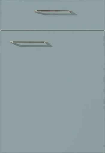 Nobilia Touch Front 337 Lacklaminat Aqua supermatt