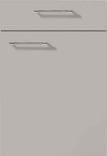 Nobilia Touch Front 341 Lacklaminat Steingrau supermatt