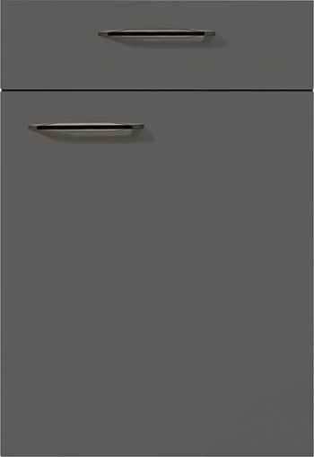 Nobilia Touch Front 334 Lacklaminat Schiefergrau supermatt