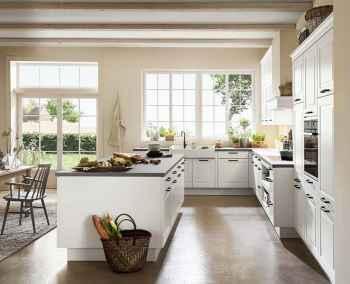 Nobilia Sylt Lack Weiß matt Küche im Landhausstil