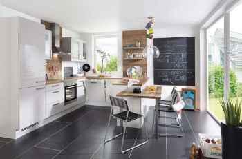 Nobilia Focus Sand Ultra-Hochglanz klassische Einbauküche