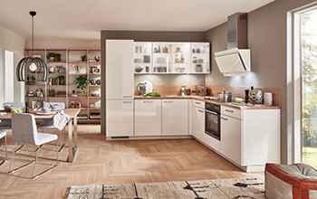 moderne Küche Nobilia Focus glänzendes Design