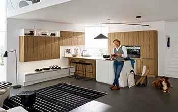 moderne Küche Nolte Manhattan günstig und vielseitig