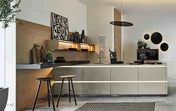 Nolte Portland Industrial Style mit Zementfront