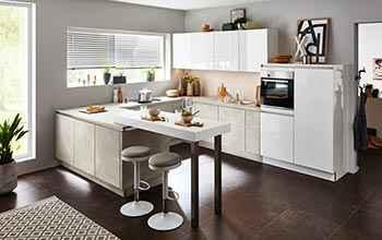 Nolte Lux geradliniges Design