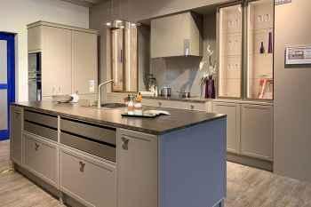 Interliving Küche Serie 3680 Lack Lava softmatt Koje 78