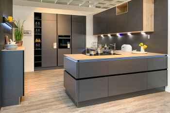 Nolte Küche Titan Metalloptik Graphit Koje 83